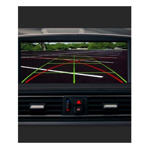 Видеоинтерфейс для BMW с системой CIC с активными парковочными линиями Превью 1