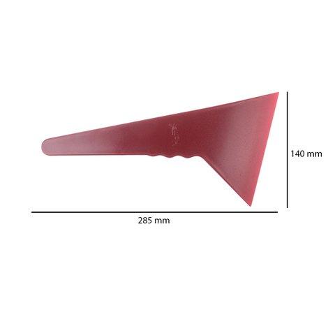 Инструмент для снятия обшивки с широкой плоской лопаткой (полиуретан, 285×140 мм) Превью 1