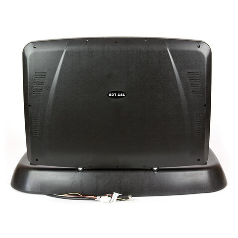 """19"""" Flip Down  Monitor with DVD Player (Black) Preview 3"""