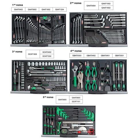 Візок з набором інструментів TOPTUL GCAJ0008 Прев'ю 1