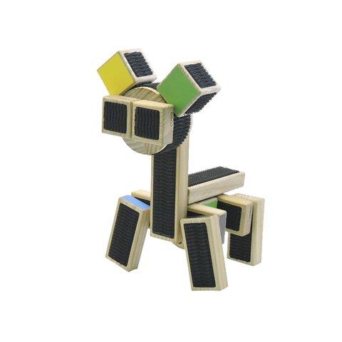 Конструктор COKO Строительные кубики 22 Превью 15