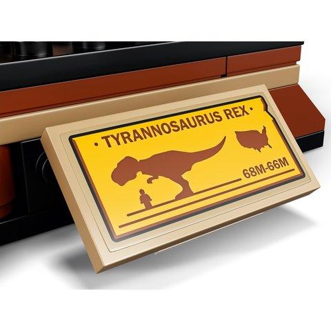 Конструктор LEGO Jurassic World Виставковий скелет тиранозавра 76940 Прев'ю 8
