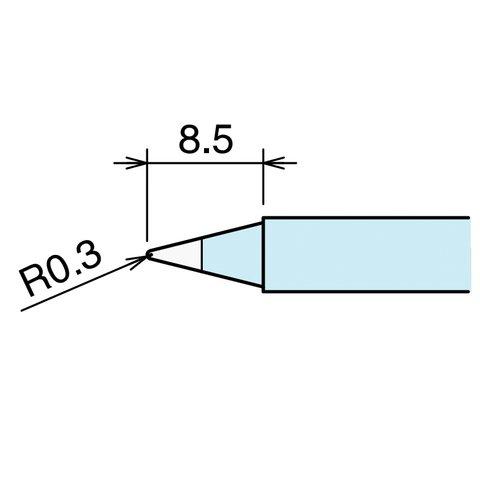 Soldering Iron Tip GOOT RX-80HRT-B Preview 1